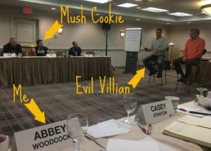 Mush cookies and maniacal villains… the power of voice