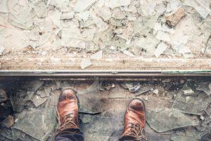 Glass ceilings leave cuts when they break