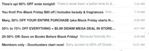 GTFO of my inbox